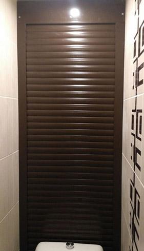 Пример для расчета итоговой стоимости рольставней в туалет 800x2000мм