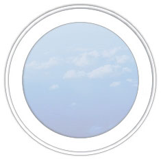 круглое глухое окно