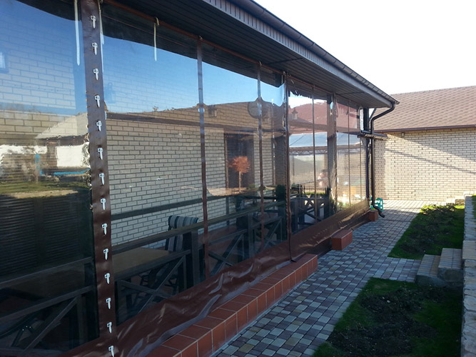 мягкие окна для веранды цена