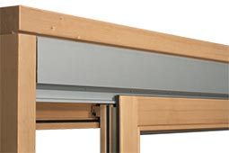 раздвижная деревянная рама