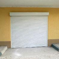 рольставни для гаража белые