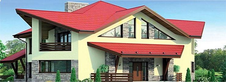 треугольные окна для дома
