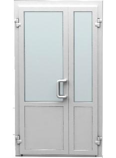 двустворчатая дверь со штульпом
