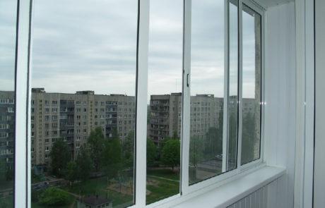 алюминиевые окна на лоджии