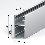 GR45x22E для профилей AR37, AR40, AR41, AR45, AER42, AER44s