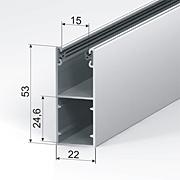GR53x22E для профилей AR37, AR40, AR41, AR45, AER42, AER44s