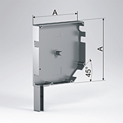 крышка сдвоенная промежуточная типоразмеры от 137 до 205 мм