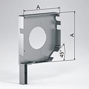 крышка сквозная промежуточная типоразмеры от 137 до 205 мм