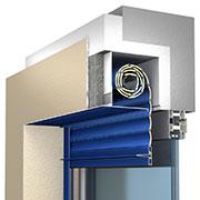 система встроенных коробов SB-I типоразмеры 137, 150, 165, 180, 205 мм